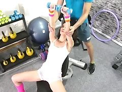Ass, Babe, Blowjob, Coach, Doggystyle, Fingering, Fitness, Gym, Hardcore, HD,