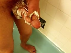 Mature, Shower, Soapy Massage, Solo,