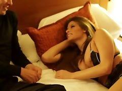 Babe, Beauty, Bedroom, Blowjob, Brunette, Cute, Gorgeous, Hardcore, Lingerie, Madelyn Marie,